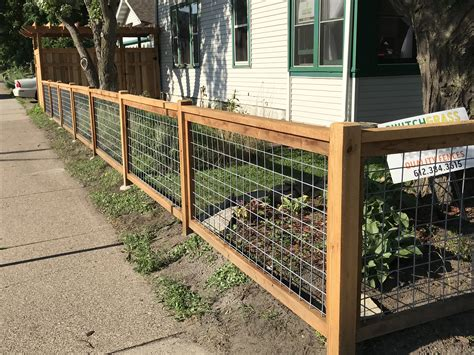 Hog Panel Fence Design
